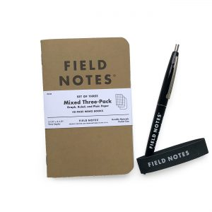 Starter Set, offen, Field Notes, Notizhefte,