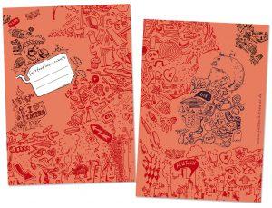 Schulheft, DinA-5, illustriert, für Improschule, München,