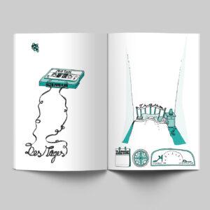 Innenseiten, Mein Buch für alle Tage, Tape, Träume, Tagebuch,