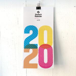 Titelblatt 2020, Umwerk Kalender, Wandkalender, bunt,