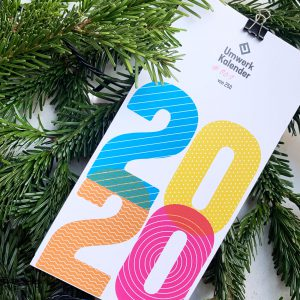 Umwerk, Kalender 2020, 6 Klappkarten,