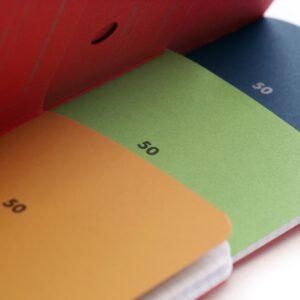 Field Notes, Fifty, Vorsatzpapier, farbig, Notizhefte,