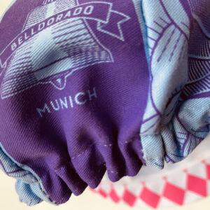 Belldorado, Munich, Detail, Fahrradkappe,