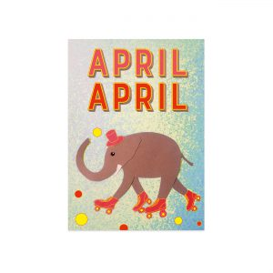 UMWERK - Postkarte APRIL APRIL