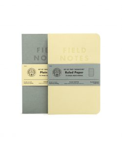 Field Notes, Signature Edtion, ruled or plain, Noizhefte, Made in USA,