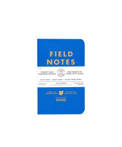Field Notes, County Fair, Notizhefte, Bundesstaaten der USA,