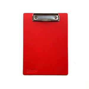 Schwartz Klemmbrett DIN-A5 rot