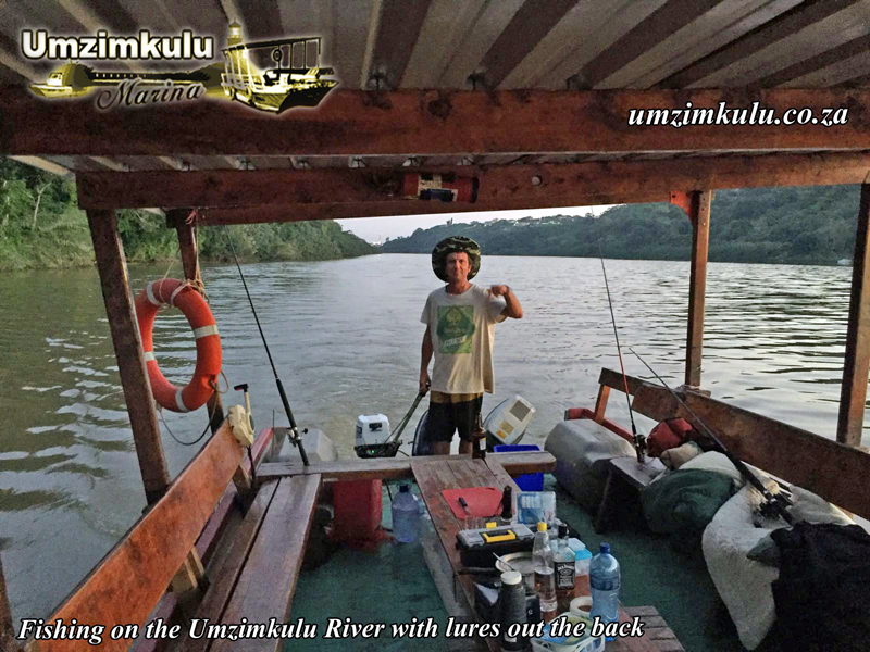 Heading down to the Umzimkulu River mouth waters for the night. Grunter time.
