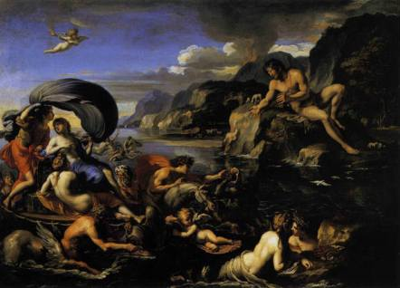 Acis and Galatea by François Perrier (wikimedia.org) Black male in Greek myth scene