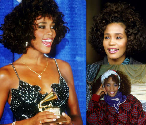 02102015_WhitneyHouston_Hairstory_CroppedCurls_Bang_NaturalHair_Short_Headband_Scarf
