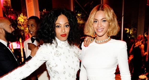 02242015_SolangeKnowles_Beyonce_Oscars_VanityFairParty_Bobs_Lobs_Wigs_Blonde_Black_Hair_Curls_Waves
