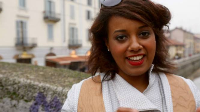 "Wintana: Wintana ""Winty"" Rezene is one of the few women of color in Italian media. A bubbly TV personality, she's notably appeared on MTV's TRL on the Road and Italy's The X Factor. Find her on Twitter: @WintanaRezene."