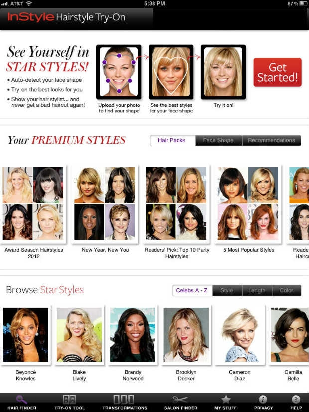 Fantastic The Instyle Hairstyle Try On App Un Ruly Schematic Wiring Diagrams Amerangerunnerswayorg