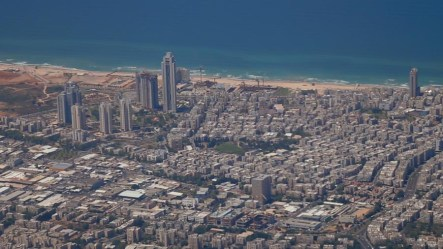 Tel Aviv is one of those few cities that can boast of both high rises and beach.