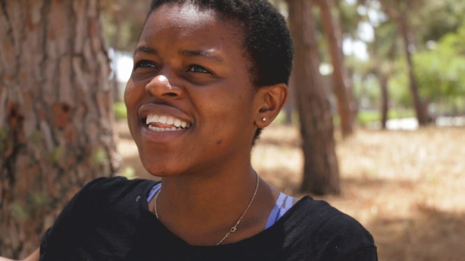 When we interviewed Gloria she had just finished high school with plans to study medicine.