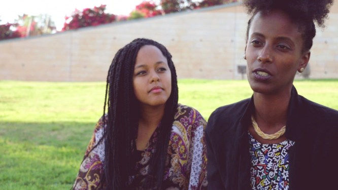 An MA student at the department of Politics & Governance at Ben Gurion University of the Negev and a columnist, Efrat (right), speaks out against the issues facing the Ethiopian community in Israel and advocates for more diverse stories to be told as part of the Israeli narrative.