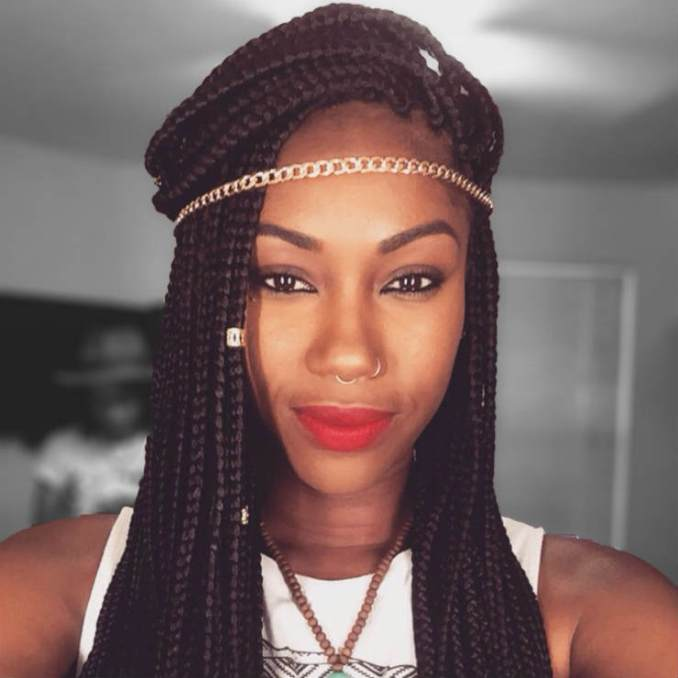 Three Ways to Bling Out Your Box Braids With Jewelry