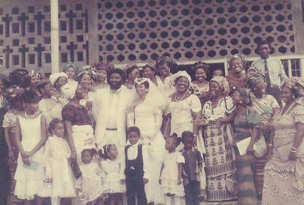 Dupsy: My wedding day in Nigeria