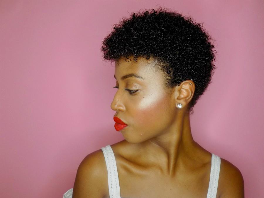 Aisha tapered twa short hair