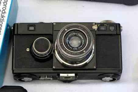 Первая модель фотоаппарата «Contax», 1932 год