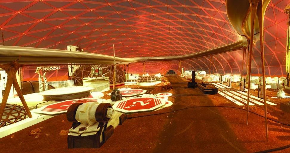 МАРСИАНСКИЙ НАУЧНЫЙ ГОРОД. В ОАЭ строят город для имитации жизни на Марсе. 4