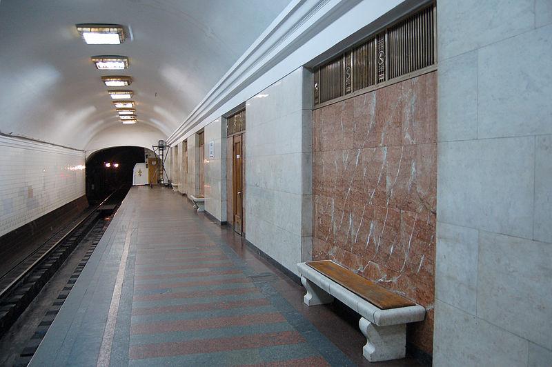 Единственные в своем роде станции Киевского метрополитена 12