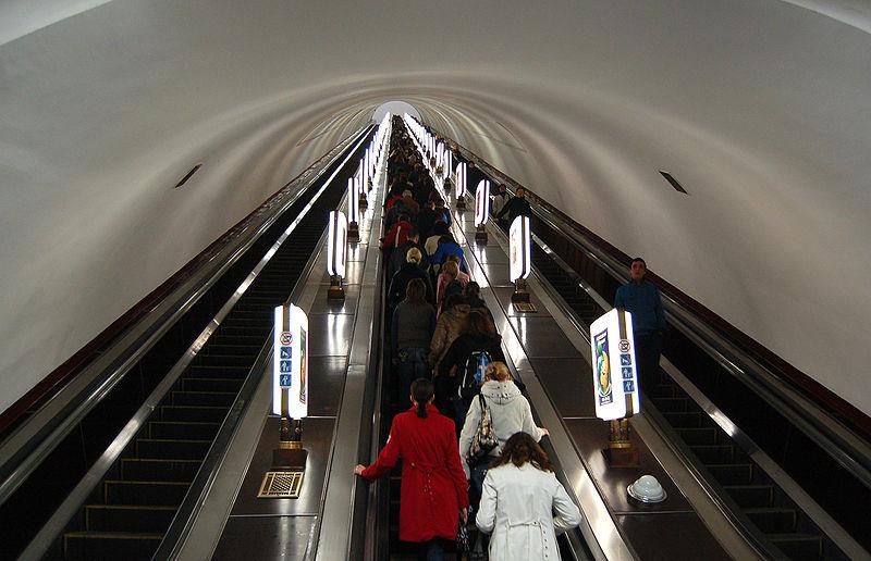 Единственные в своем роде станции Киевского метрополитена 10