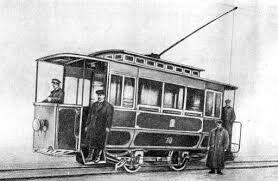 13 июня 1892 года (127 лет назад) — в Киеве был пущен первый электрический трамвай 4