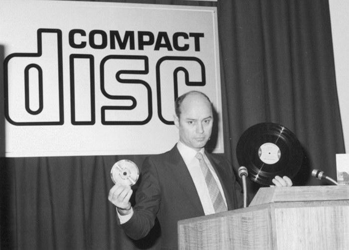 Первый прототип компакт-диска был изобретен украинским ученым 2