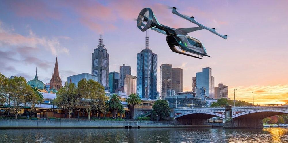 Летающие такси. Uber анонсировал запуск в Австралии. 3