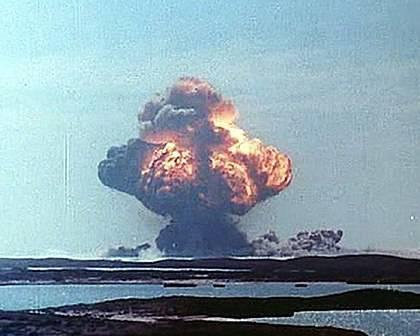 Полигоны ядерных испытаний Австралии. Ч.1 1
