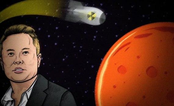 Не все поддерживают Илона Маска. Почему ученые отказываются атаковать Марс ядерными бомбами? 8