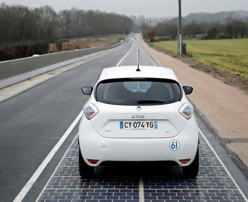 Первая в мире автодорога с покрытием из фотоэлементов признана «абсолютным провалом» 12