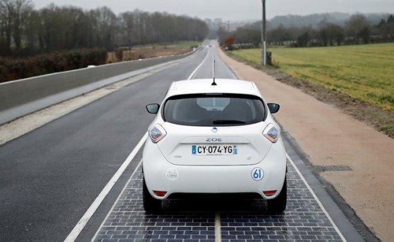 Первая в мире автодорога с покрытием из фотоэлементов признана «абсолютным провалом» 1