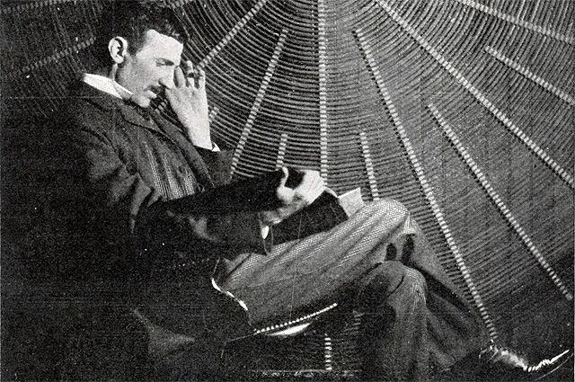 Что раньше: энергия или материя? Интервью с Николо Тесла 3