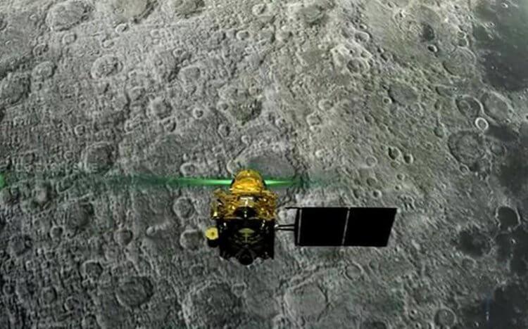 Индия потеряла связь со своим луноходом 1