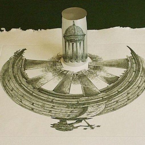 Возможности цилиндрического зеркала 10