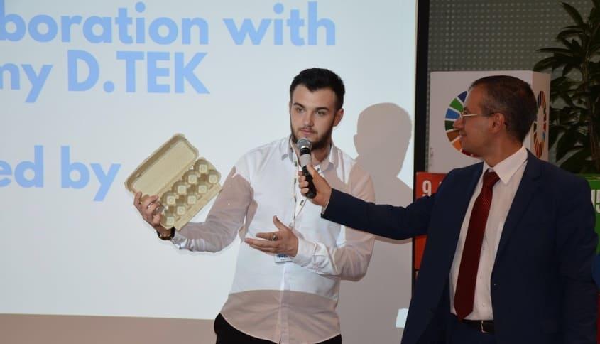 Инновационный проект экоресайклинга. Интервью с украинским ученым. 1
