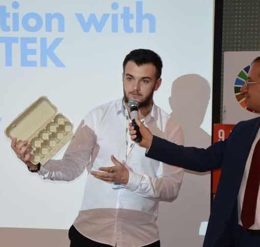 Инновационный проект экоресайклинга. Интервью с  украинским ученым. 7