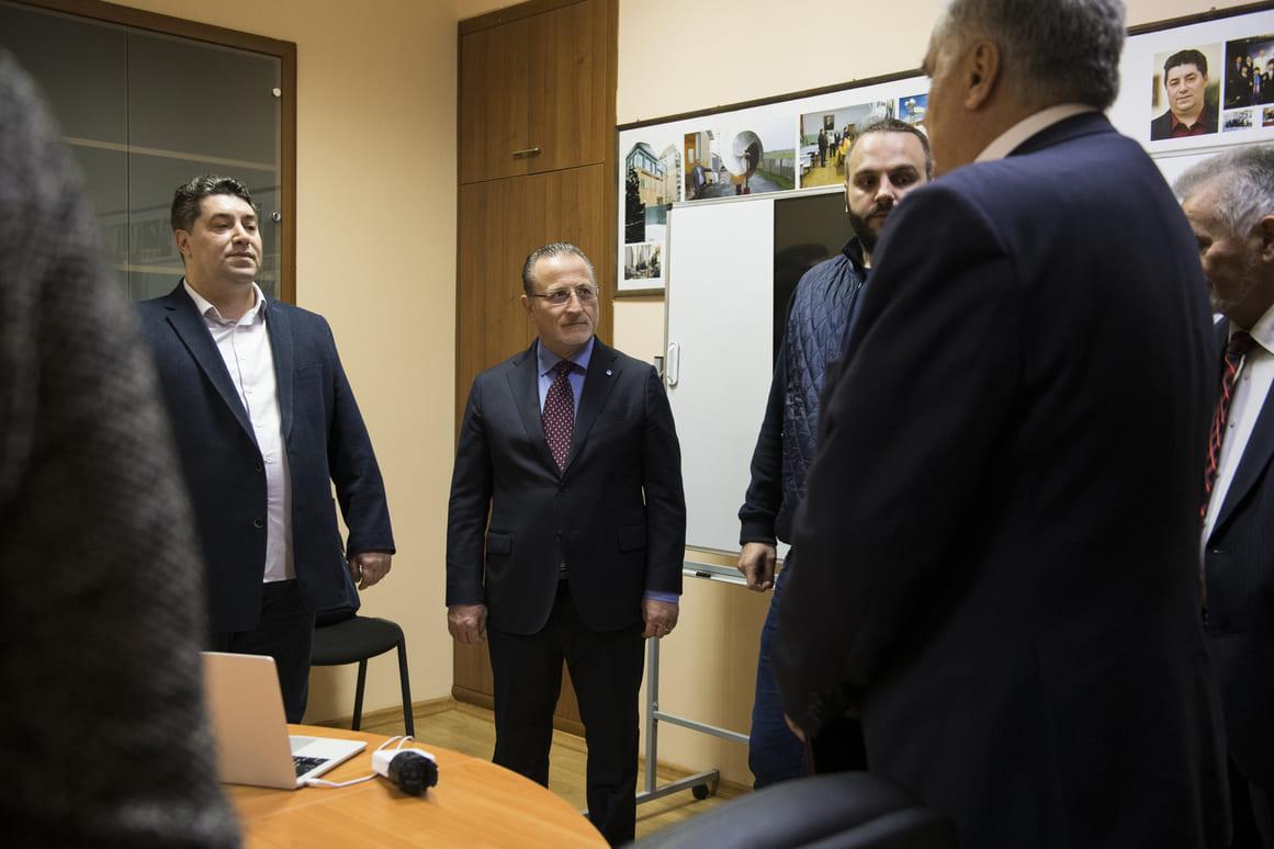 Итальянский  профессор Антонио Никасо стал почётным академиком УАН 7