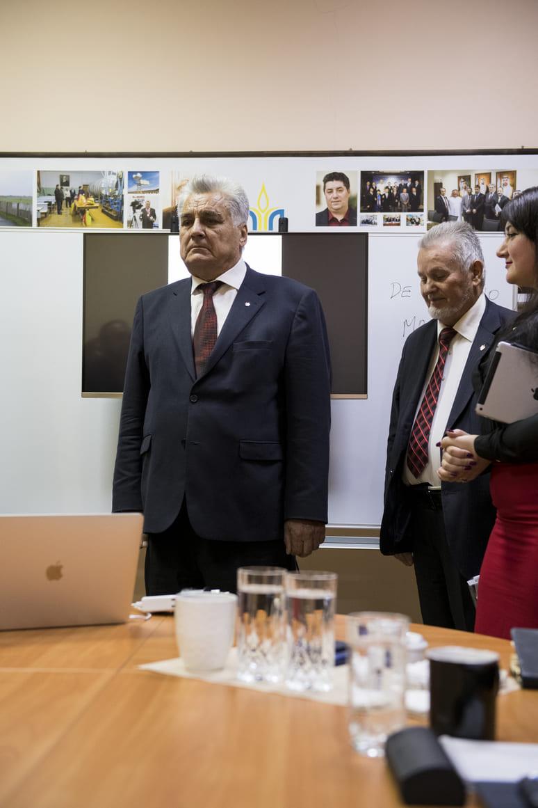 Итальянский  профессор Антонио Никасо стал почётным академиком УАН 6
