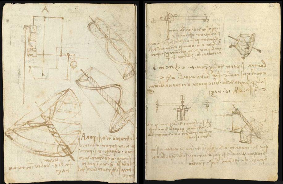 Научные книги Леонардо да Винчи выложили в открытый доступ 3