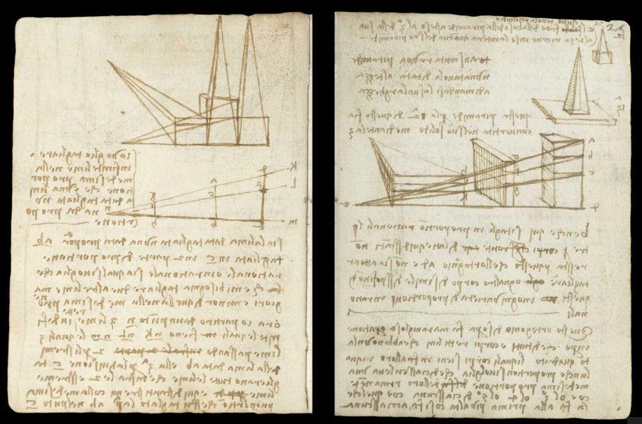 Научные книги Леонардо да Винчи выложили в открытый доступ 11