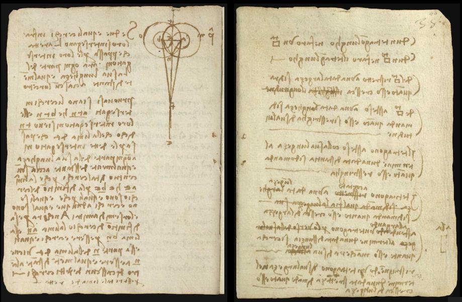 Научные книги Леонардо да Винчи выложили в открытый доступ 12