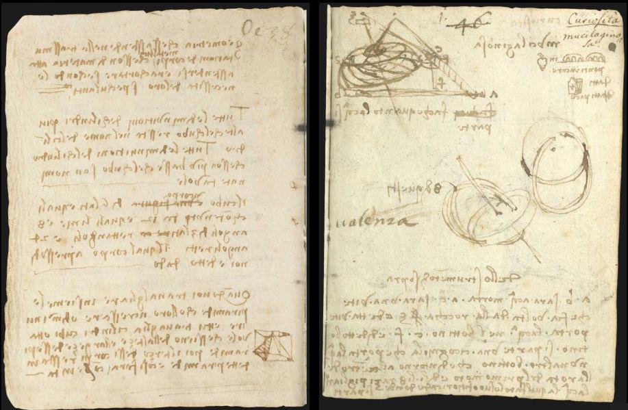 Научные книги Леонардо да Винчи выложили в открытый доступ 13