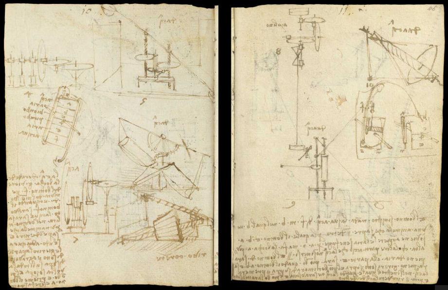 Научные книги Леонардо да Винчи выложили в открытый доступ 15