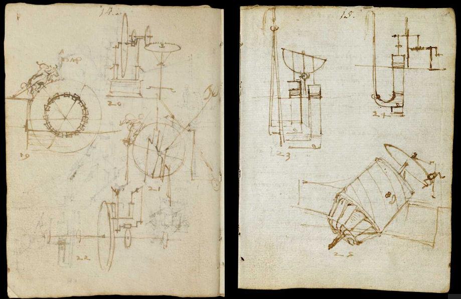 Научные книги Леонардо да Винчи выложили в открытый доступ 17