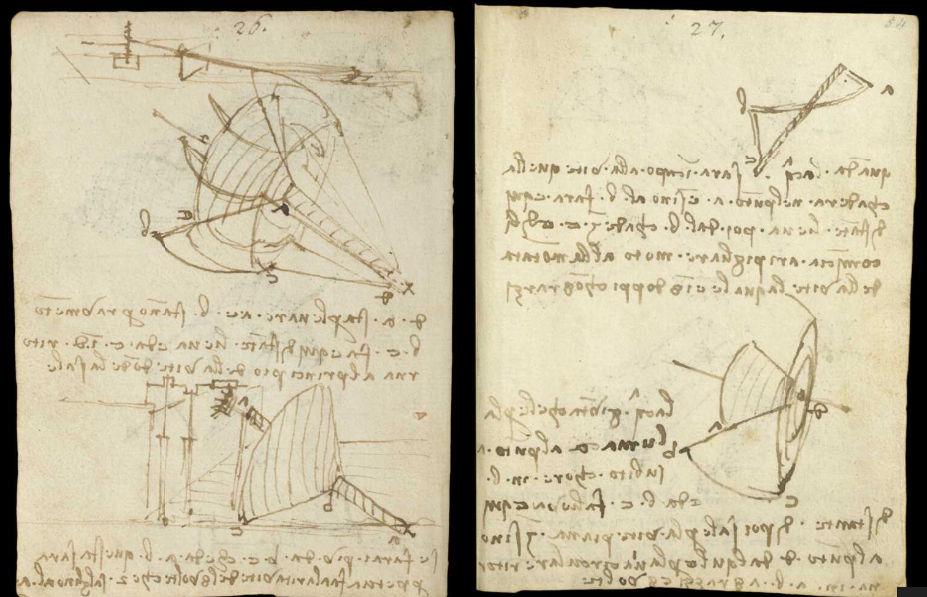 Научные книги Леонардо да Винчи выложили в открытый доступ 23