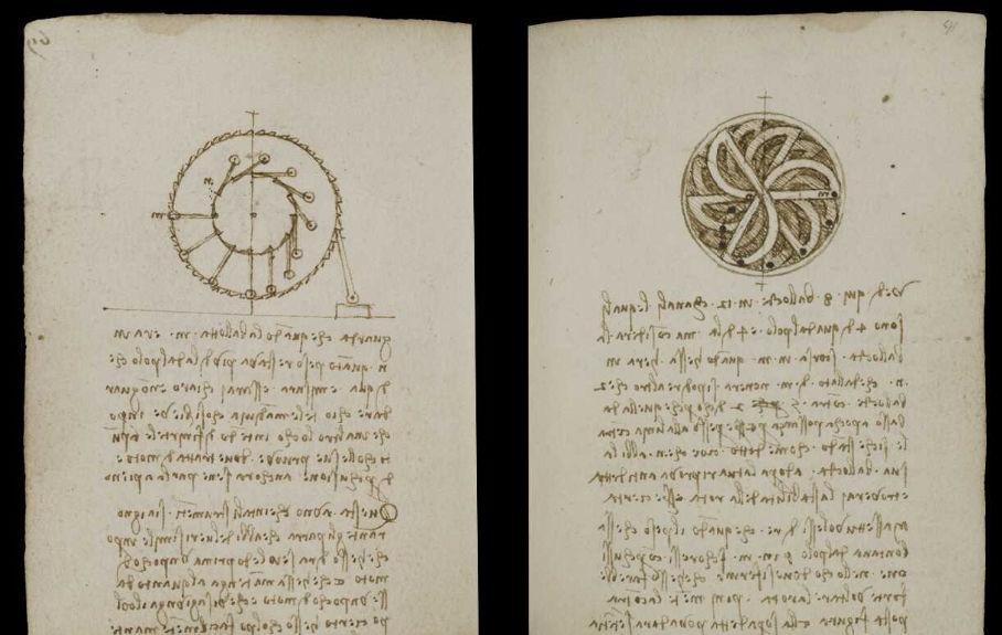 Научные книги Леонардо да Винчи выложили в открытый доступ 25
