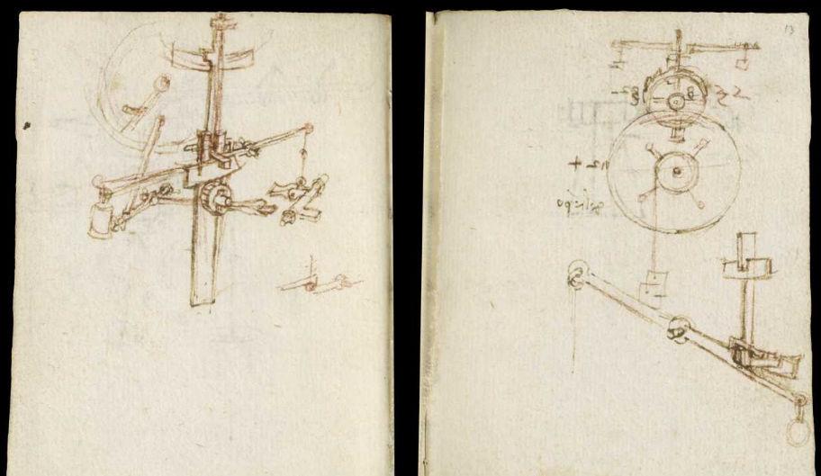 Научные книги Леонардо да Винчи выложили в открытый доступ 32